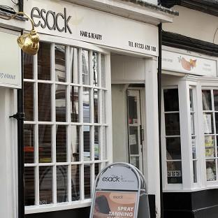 Ivan Esack was found guilty of murdering his ex-wife at her hair salon in Ashford, Kent