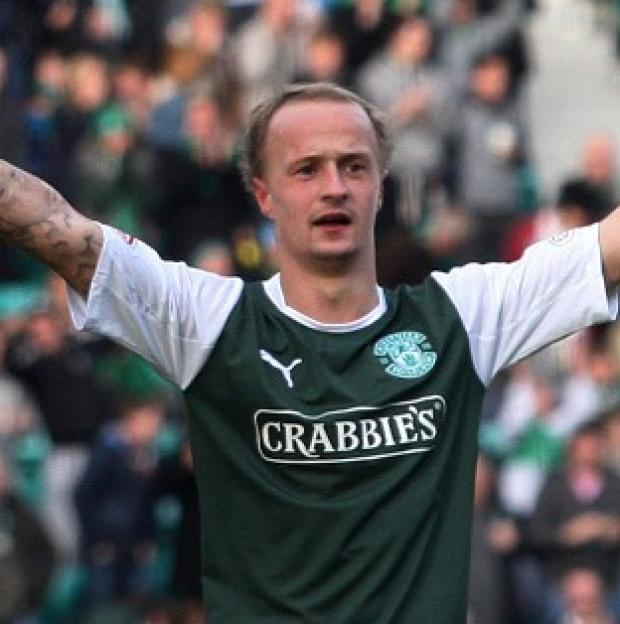 Leigh Griffiths is currently on loan at Hibernian