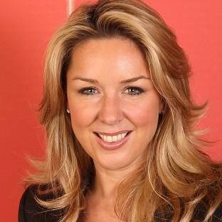 Claire Sweeney is engaged and hopes to marry in the House of Lords