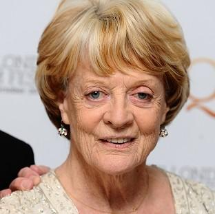 Dame Maggie Smith has won a Golden Globe