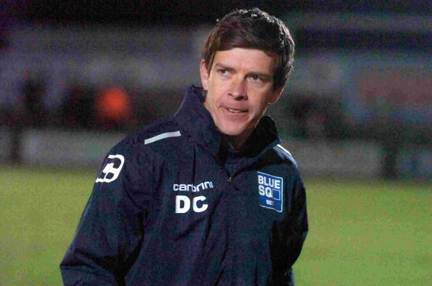 Darrell Clarke (pictured above) will stay as Salisbury's boss until the summer of 2015.