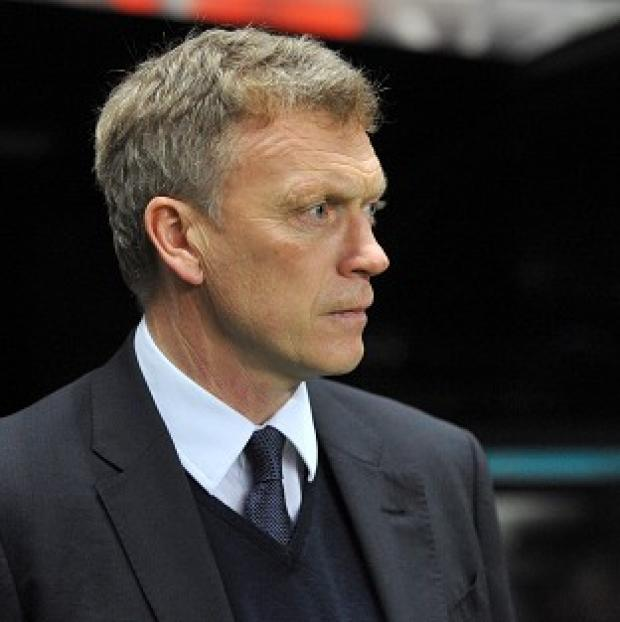 David Moyes', pictured, Everton will provide the first opponents for new Southampton boss Mauricio Pochettino on Monday