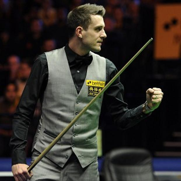 Next on the agenda for Mark Selby is becoming world champion at the Crucible