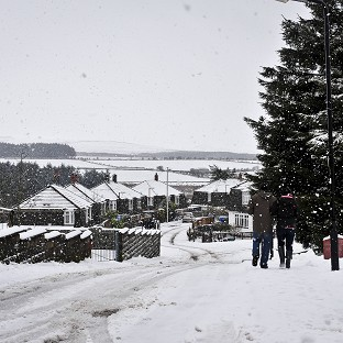 No respite as snowy spell continues
