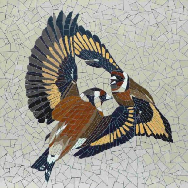Mosaics show is inspired by nature