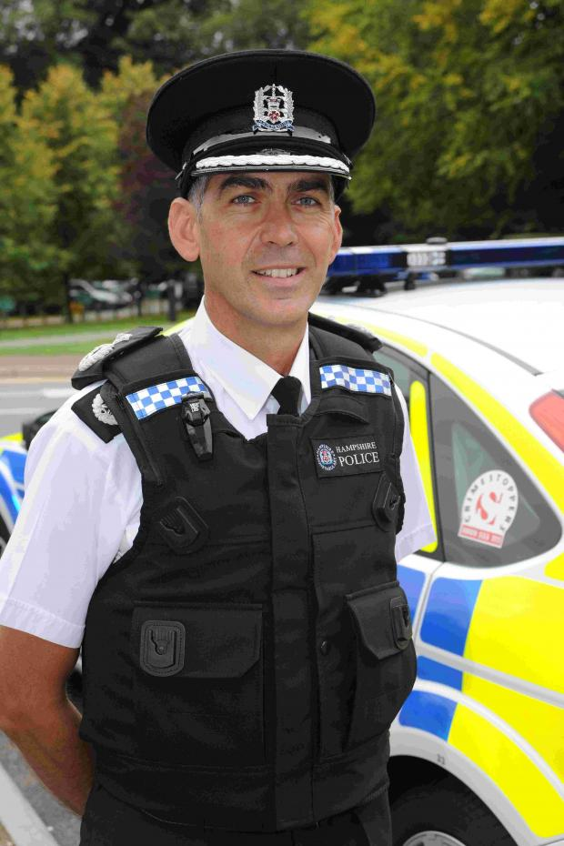Hants chief constable selected