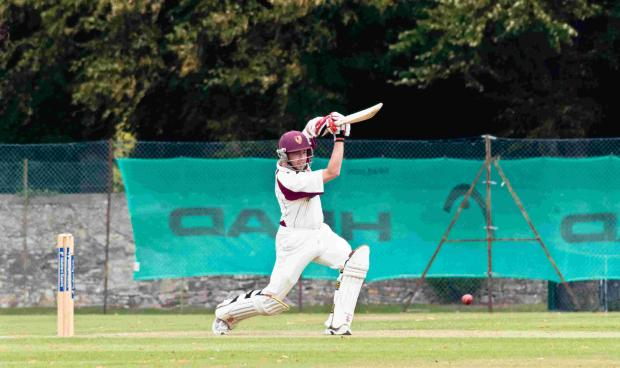 Salisbury Journal: Picture of South Wilts skipper James Hayward in action