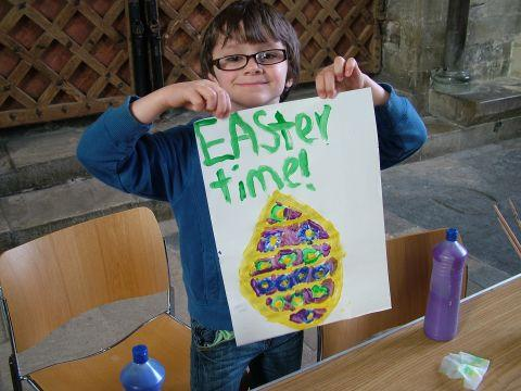 Easter activities at cathedral