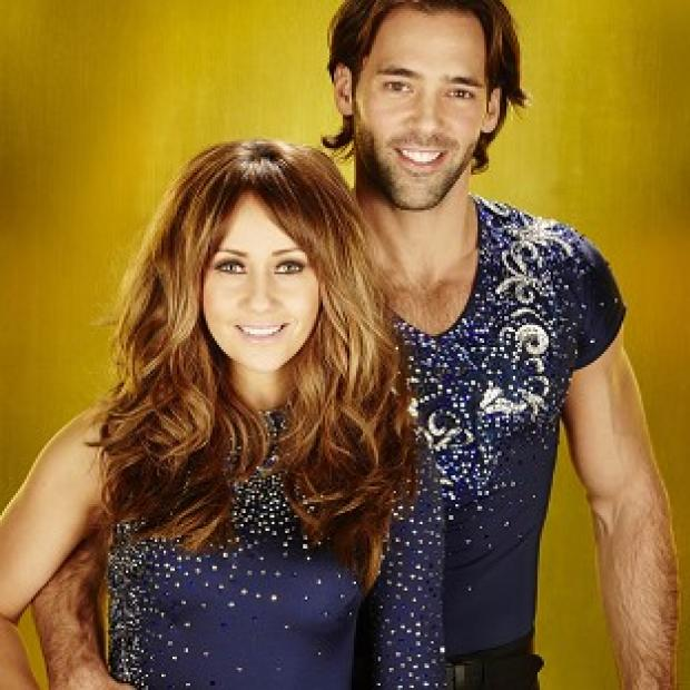 Sylvain Longchambon denies he is dating Dancing On Ice partner Samia Ghadie