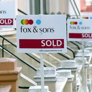 House prices were flat across England and Wales in January following six months of falls