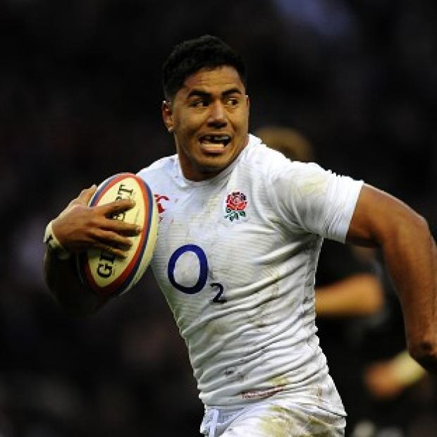 Manu Tuilagi is sidelined for England's RBS 6 Nations match against Scotland with an ankle injury