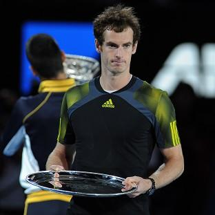 Following his Australian Open final defeat, Andy Murray says he will 'look at the positives' (AP)