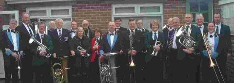 Band members honour great supporter