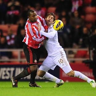 Salisbury Journal: Titus Bramble, left, denied Danny Graham, right, as they played out a stalemate
