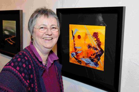 Jane turns music into works of art