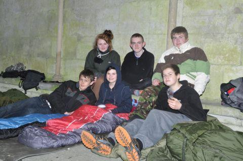 Sign up for Alabaré Sleep Out