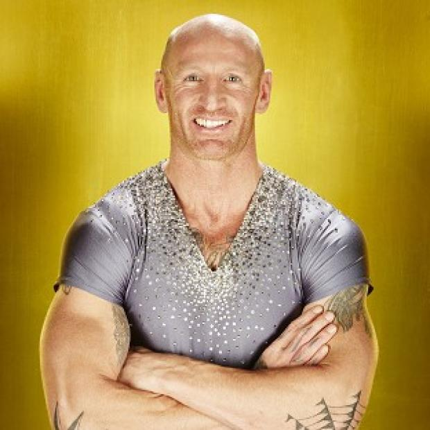 Gareth Thomas said his foot is 'super swollen'