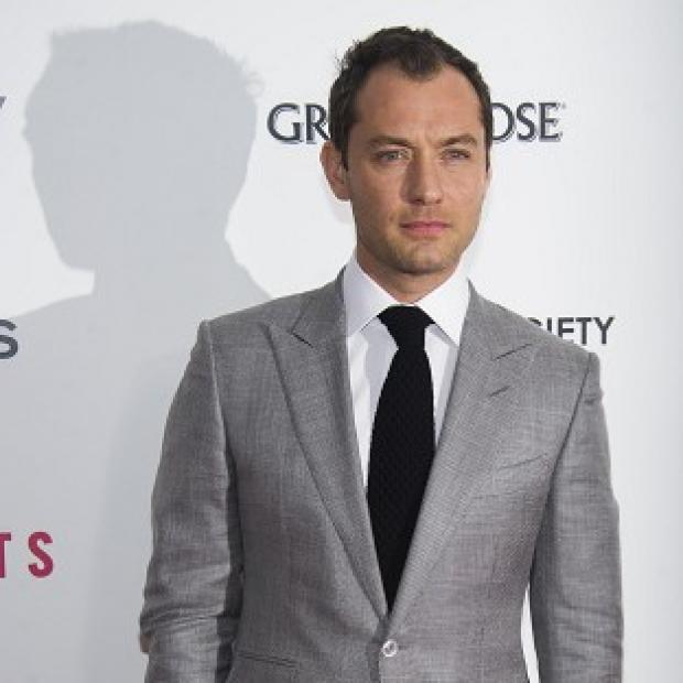 Jude Law has revealed he plans to watch the Super Bowl this Sunday