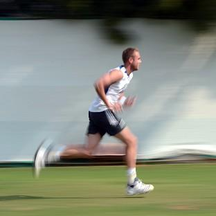 Stuart Broad bowled outdoors on Sunday