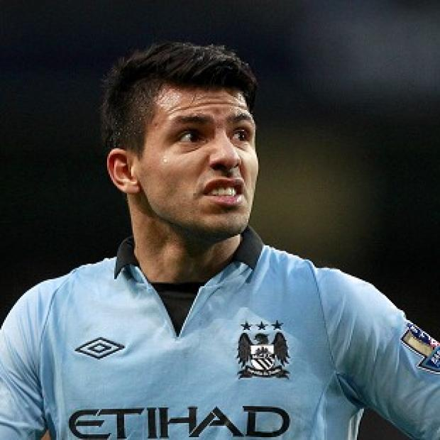 Sergio Aguero rescued a point for Manchester City with a strike from a tight angle