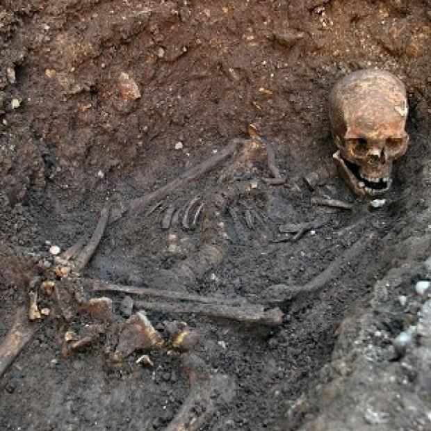 After confirmation of the remains of King Richard III, scientists are looking to find the grave of Alfred the Great (PA/University of Leicester)