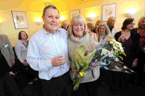College bids a fond farewell to careers adviser