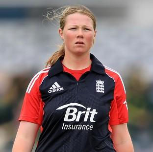 Anya Shrubsole took four wickets as England secured their spot in the Super Six stage