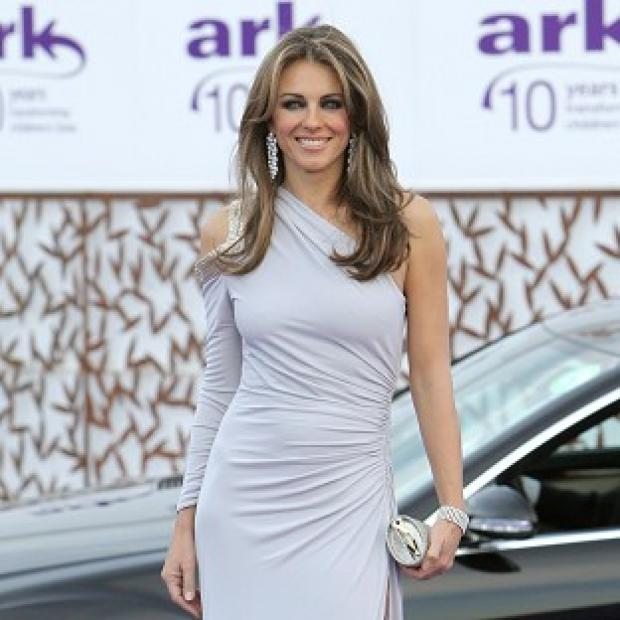 Liz Hurley's car has been found in London