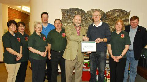 Award for Whiteparish life-savers