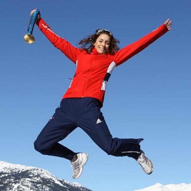 Amy Williams won gold at the Vancouver 2010 Winter Olympics