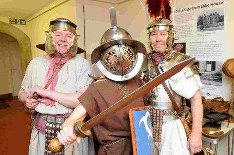 Roman Day at Museum