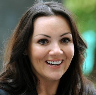Actress Martine McCutcheon has been declared bankrupt