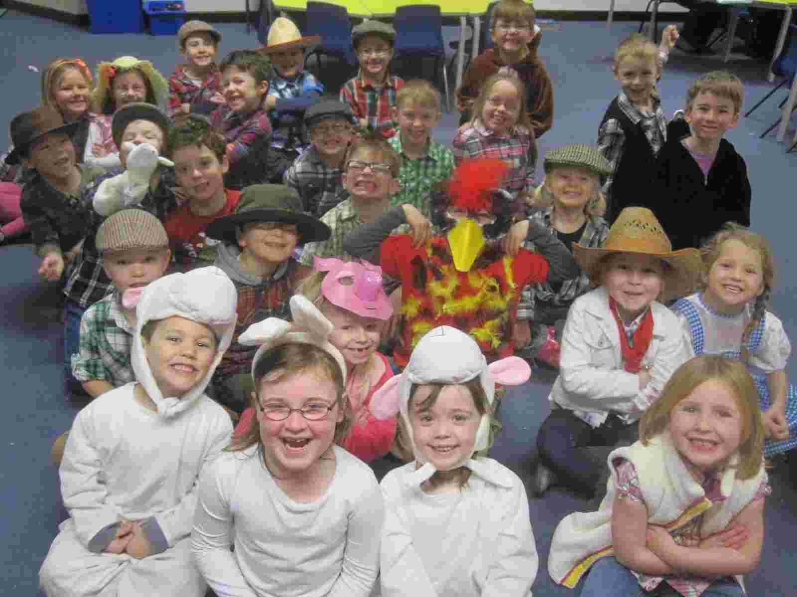 Farm topic fun for youngsters