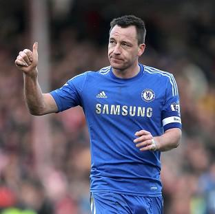 John Terry was part of a 19-man Chelsea squad that left for Prague