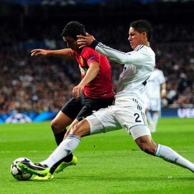 Rafael, left, had a much better game in the second half against Real Madrid