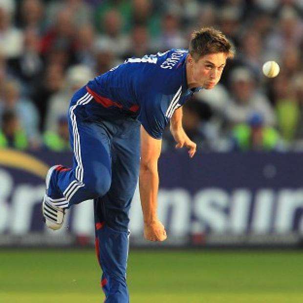 Chris Woakes, pictured, has a good relationship with Ashley Giles