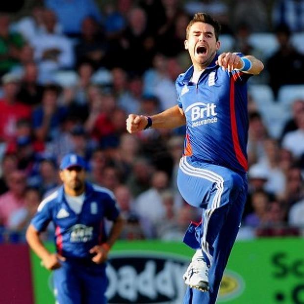 James Anderson continued his fine form with five wickets in England's win