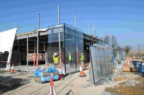 Salisbury Journal: Work on the new Stonehenge visitor centre