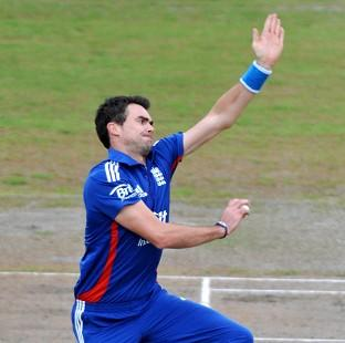 James Anderson impressed with the new ball in England's victory