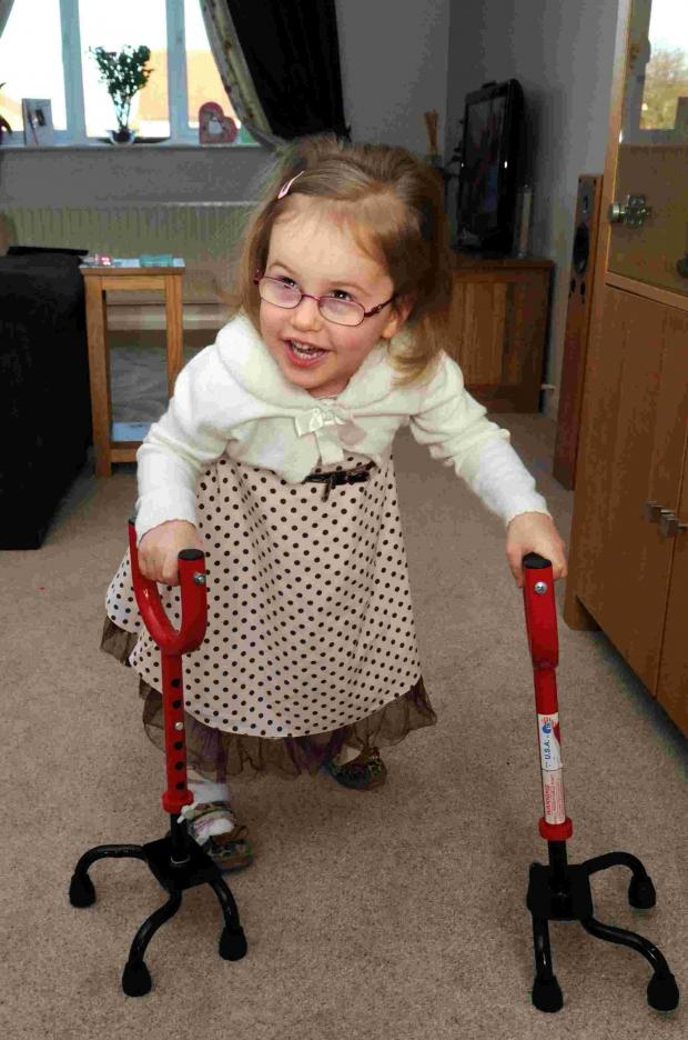 A year from her op, Missy stuns family with progress