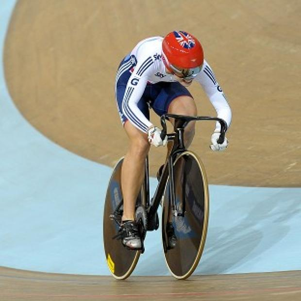Becky James won bronze in the women's 500metres time-trial at the Track Cycling World Championships