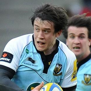 Jamie Elliott scored a brace of tries for Northampton
