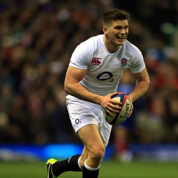 Owen Farrell is struggling with a thigh injury
