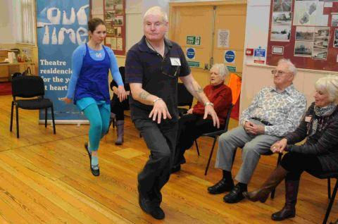 Mime and motion explored at Stroke Forum workshop