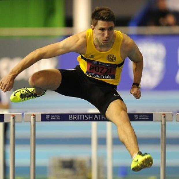 Injury has forced Andrew Pozzi out of the European Indoor Championships