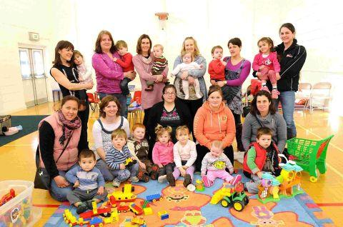 Toddler group re-opens