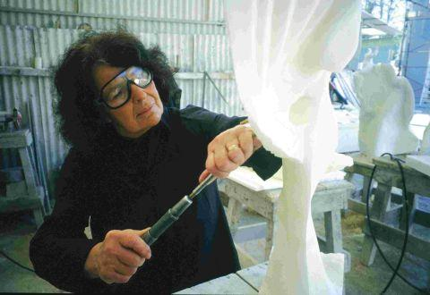 Helaine Blumenfeld at work