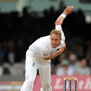 Stuart Broad led England's seam attack
