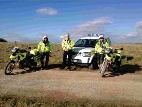 Crackdown on illegal off-road driving