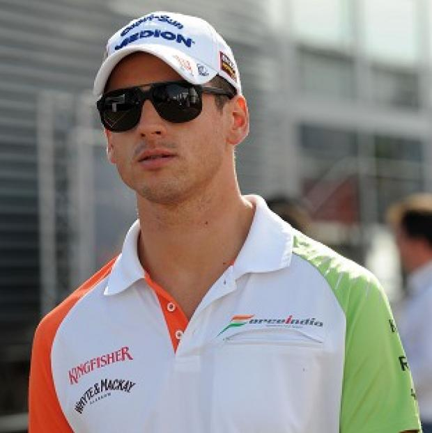 Adrian Sutil competed in 73 races during a previous stint with the team